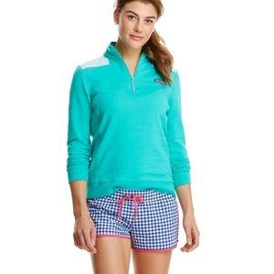 Vineyard Vines shep shirt 1/4 zip pullover medium